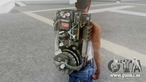 Ghostbuster Rucksack für GTA San Andreas dritten Screenshot