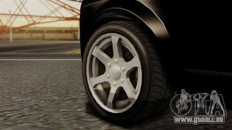 GTA 5 Enus Super Diamond für GTA San Andreas zurück linke Ansicht