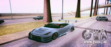 Brandals ENB v2 pour GTA San Andreas deuxième écran