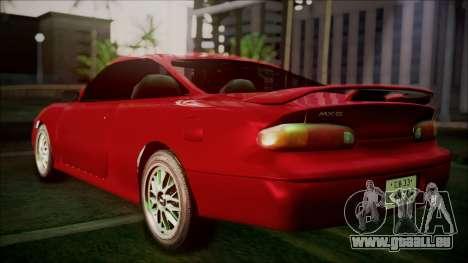 Mazda MX-6 (GE5S) pour GTA San Andreas laissé vue