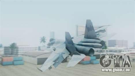 Sukhoi SU-33 Flanker-D pour GTA San Andreas laissé vue