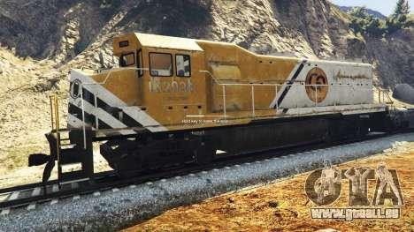 GTA 5 Ingénieur de chemin de fer de la v3.1 deuxième capture d'écran