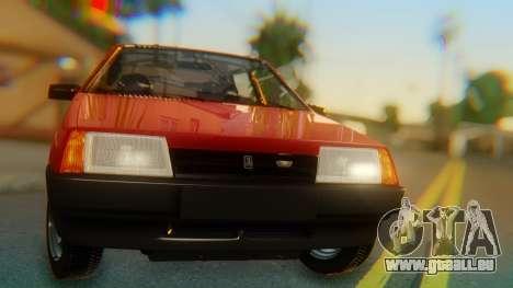2109 Stoke pour GTA San Andreas vue arrière