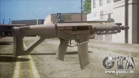 ACR from Battlefield Hardline pour GTA San Andreas deuxième écran