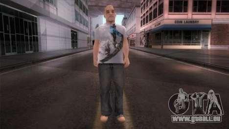 dnb1 Skin in Snowboard T-Shirt für GTA San Andreas zweiten Screenshot