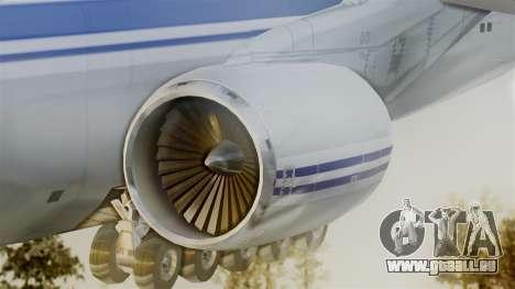 Antonov 124 pour GTA San Andreas sur la vue arrière gauche