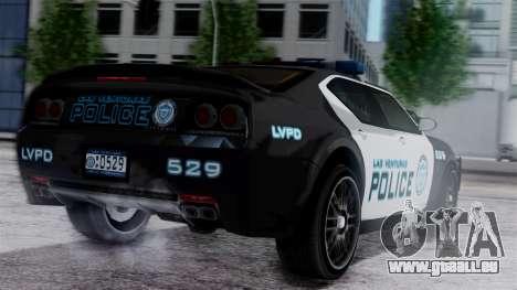 Hunter Citizen Police LV IVF pour GTA San Andreas laissé vue