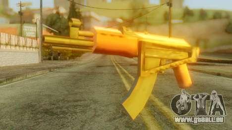 AKS-74U pour GTA San Andreas