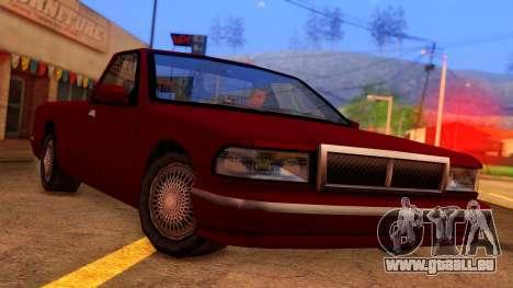Premier Pickup pour GTA San Andreas