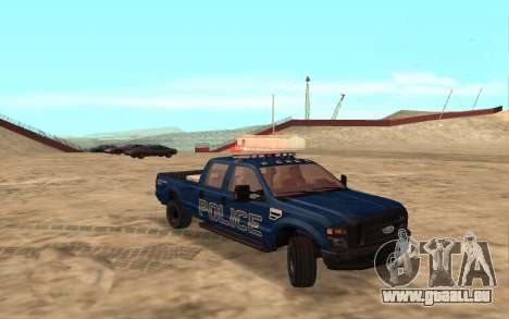 Ford F-250 Incident Response pour GTA San Andreas