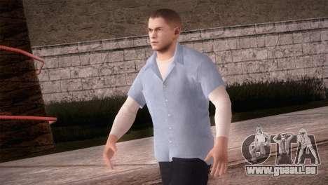 Michael Scofield de Prison formulaire pour GTA San Andreas