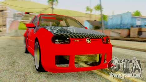 Volkswagen Golf R32 Edition Tribal für GTA San Andreas