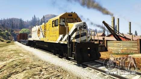 GTA 5 Ingénieur de chemin de fer de la v3.1