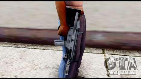MK16 PDW Advanced Quality v2 für GTA San Andreas dritten Screenshot