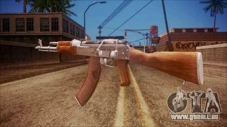 AK-47 v3 from Battlefield Hardline für GTA San Andreas zweiten Screenshot