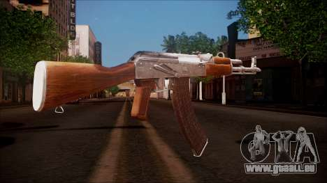 AK-47 v8 from Battlefield Hardline für GTA San Andreas zweiten Screenshot