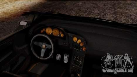Pegassi Zentorno Cabrio v2 pour GTA San Andreas vue de droite