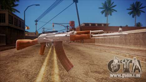 AK-47 v3 from Battlefield Hardline pour GTA San Andreas