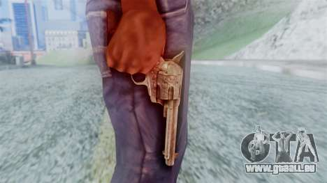 Red Dead Redemption Revolver Cattleman für GTA San Andreas dritten Screenshot