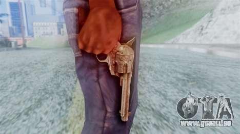 Red Dead Redemption Revolver Cattleman pour GTA San Andreas troisième écran