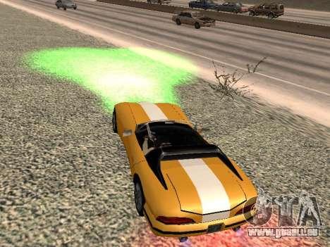 Xenon pour GTA San Andreas deuxième écran