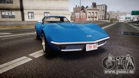 Chevrolet Corvette ZR1 1970 [EPM] für GTA 4