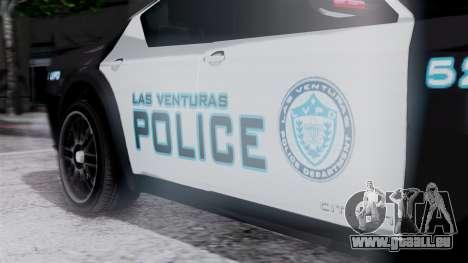 Hunter Citizen Police LV IVF pour GTA San Andreas vue de droite
