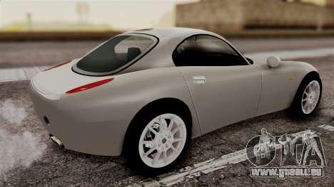 Alfa Romeo Nuvola pour GTA San Andreas laissé vue