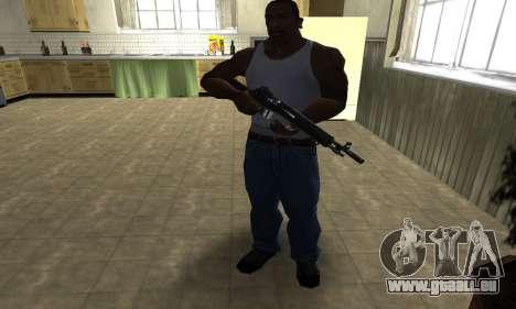 Modern Black Rifle pour GTA San Andreas troisième écran
