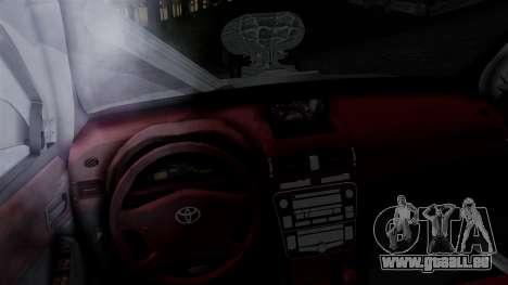 Toyota Hilux 2015 pour GTA San Andreas sur la vue arrière gauche