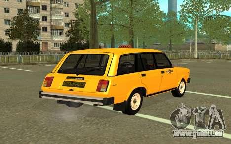 VAZ 2104 Taxi pour GTA San Andreas laissé vue