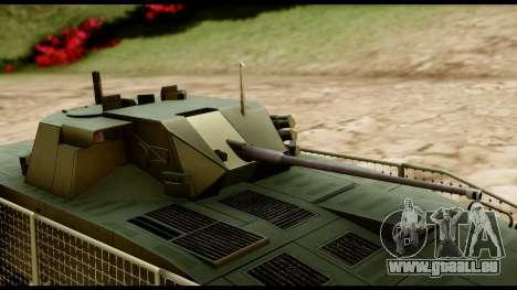 KTO Rosomak M1M pour GTA San Andreas vue de droite