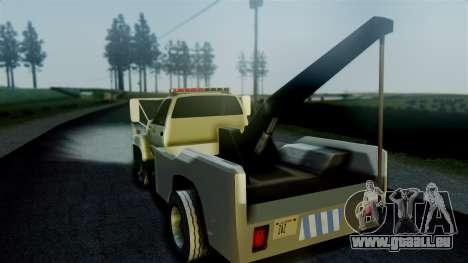 GMC Topkick Towtruck pour GTA San Andreas laissé vue
