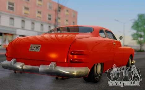 Dundreary Hermes für GTA San Andreas linke Ansicht