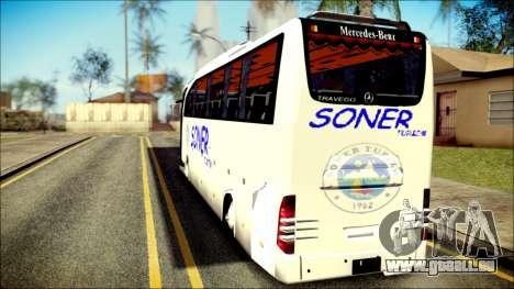 Mercedes-Benz Travego Soner Turizm pour GTA San Andreas laissé vue
