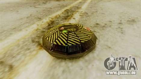 Ghostbuster SMTH pour GTA San Andreas troisième écran