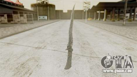 Ebony Dagger für GTA San Andreas
