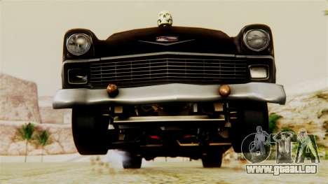 Chevrolet Bel Air 1956 Rat Rod Street pour GTA San Andreas moteur