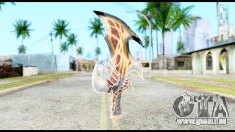 God Of War Blade of Exile pour GTA San Andreas deuxième écran