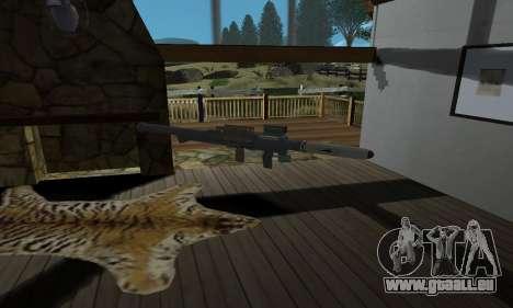 Homing Launcher from GTA 5 für GTA San Andreas dritten Screenshot