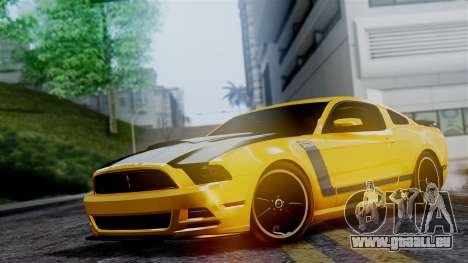 Ford Mustang Boss 302 2013 für GTA San Andreas
