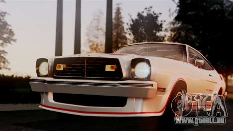 Ford Mustang King Cobra 1978 für GTA San Andreas