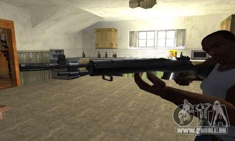 Modern Black Rifle pour GTA San Andreas deuxième écran