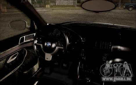 BMW M5 E39 E-Design pour GTA San Andreas vue de droite