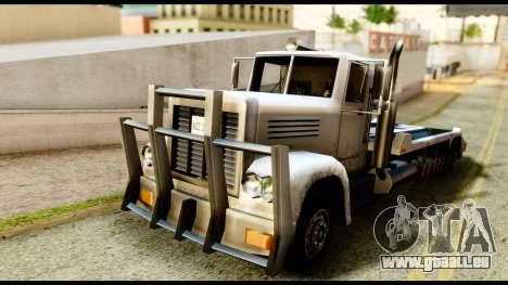 Packer Style DFT-30 pour GTA San Andreas sur la vue arrière gauche