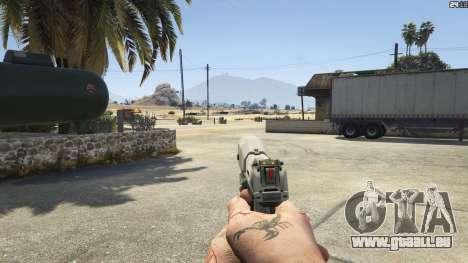 Halo UNSC: Magnum für GTA 5