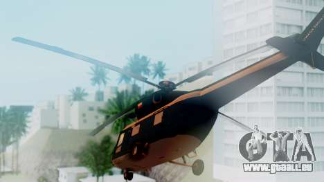 PZL W-3A Sokol pour GTA San Andreas laissé vue