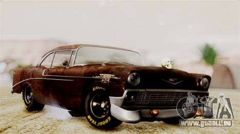 Chevrolet Bel Air 1956 Rat Rod Street für GTA San Andreas