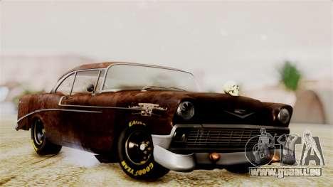 Chevrolet Bel Air 1956 Rat Rod Street pour GTA San Andreas
