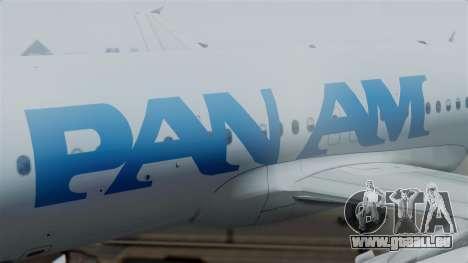 Airbus A320-200 Pan American World Airlines pour GTA San Andreas vue de droite